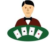 Crupier casino