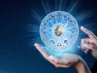 Rueda con los signos del zodíaco